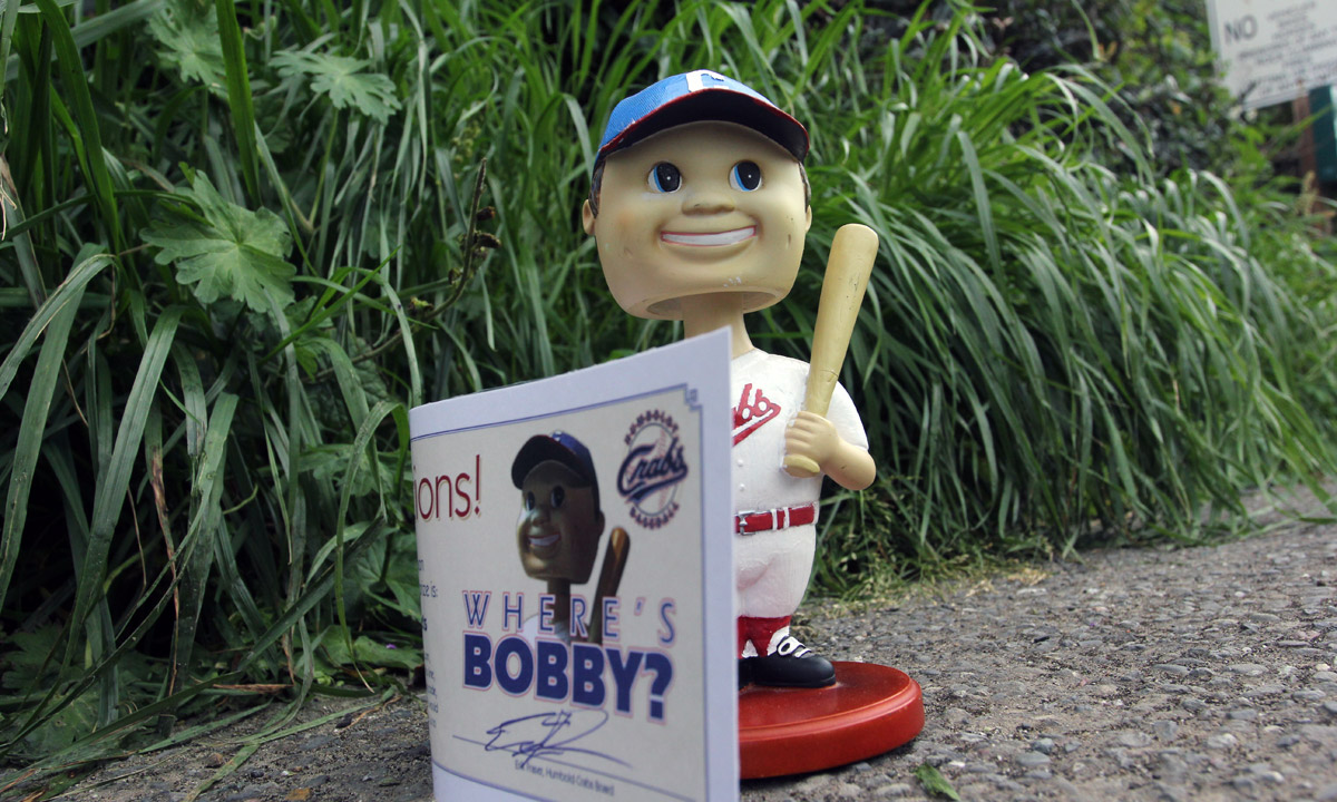 Bobby the Bobble Head Week 1 Pic 1