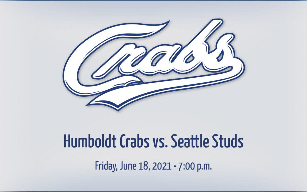Gameday: 6/18/2021 vs. Seattle Studs