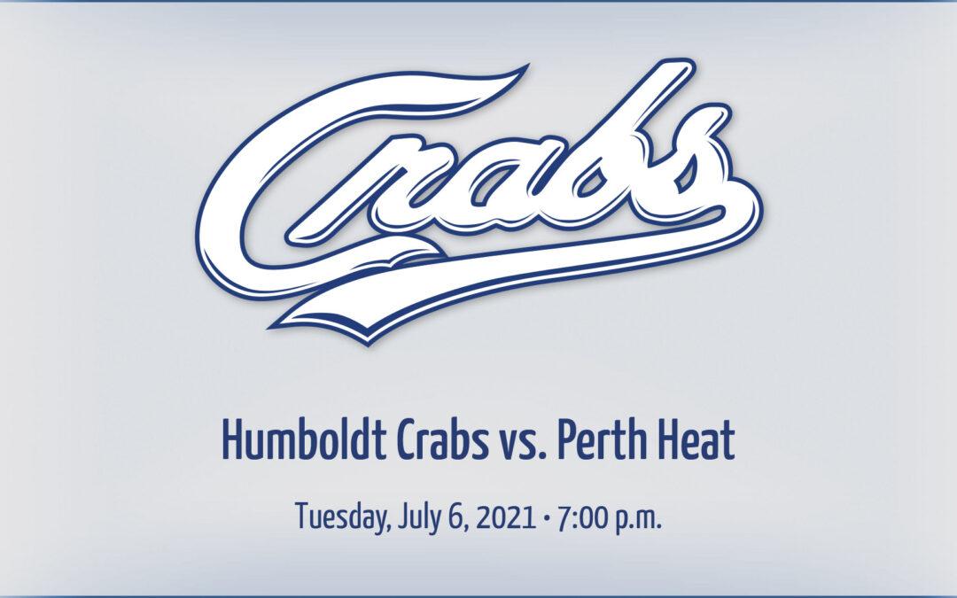 Gameday: 7/6/2021 vs. Perth Heat