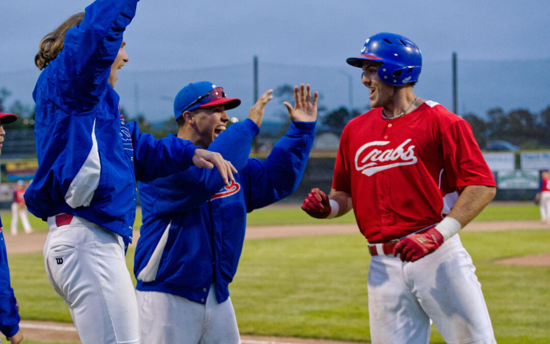 Crabs complete weekend sweep, get set for tough opponents