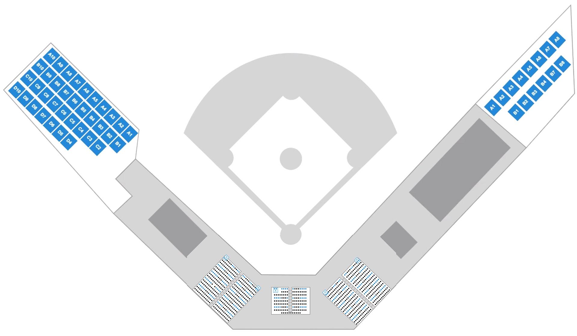 2021 Ballpark Seating Map