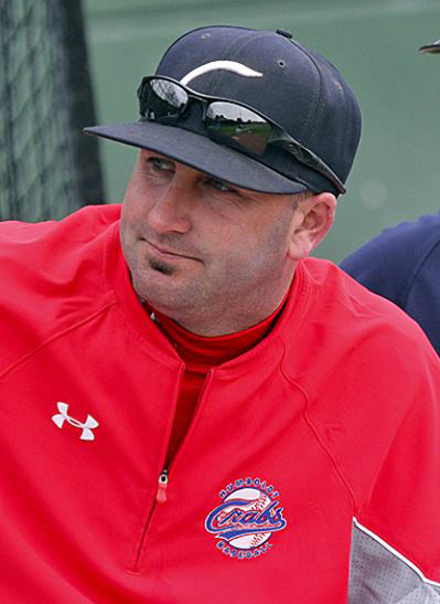 Pitching Coach Eric Giacone