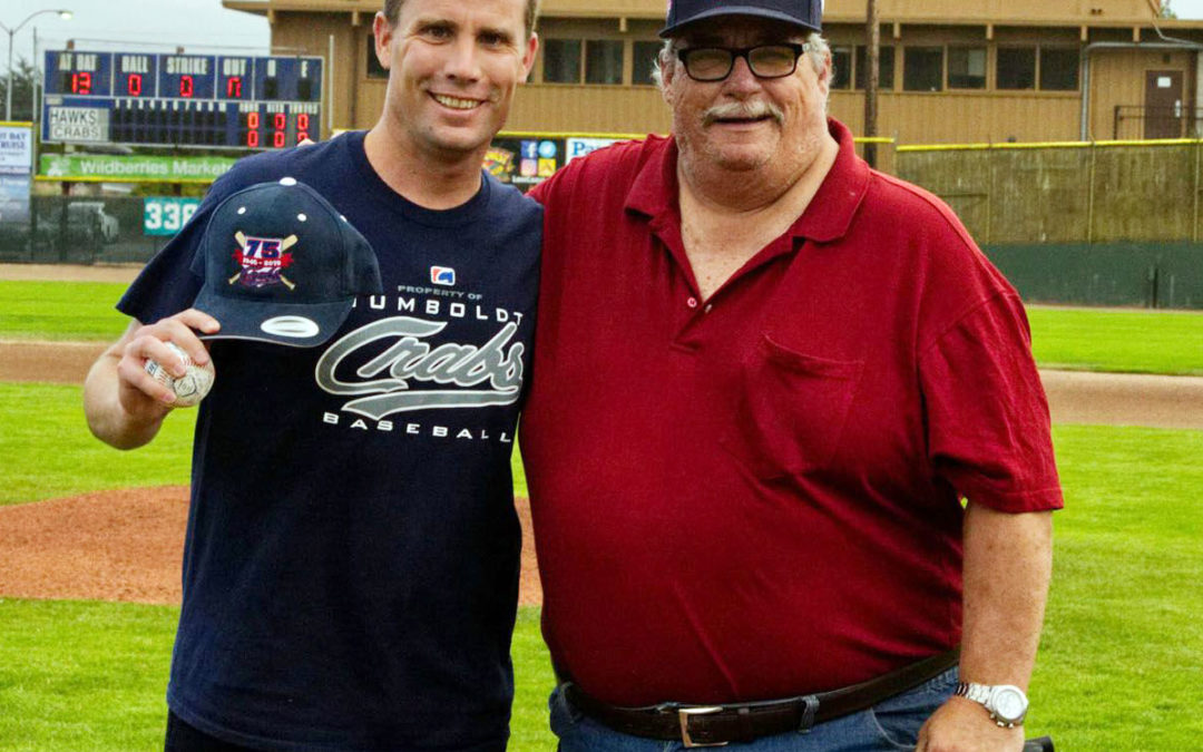 Photo of Bill Ruff with Mike McGuire