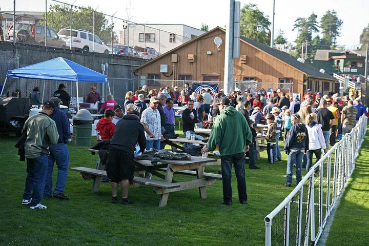 Right Field BBQ Area